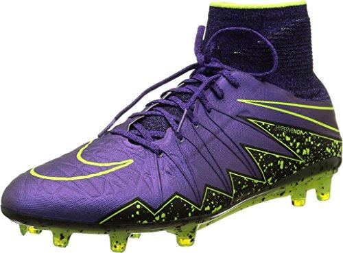 Nike Hypervenom Phantom Ii Fg, Scarpe sportive, Uomo, Multicolore (Hyper Grape/Hypr Grape-Blk-Vlt), 42