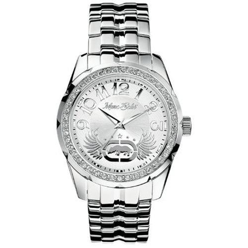 Marc Ecko Men's E95042G3 Rhino Logo Silver Stainless Steel Watch