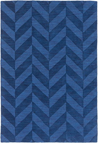 Artistic Weavers AWHP4024-23 Hand Woven Wool Rug, 2 by 3-Feet, Navy