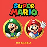 img - for Super Mario Brothers 2015 Wall Calendar book / textbook / text book