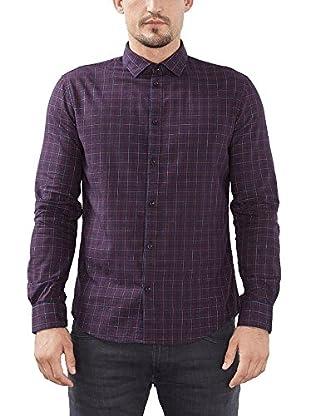 ESPRIT Camisa Hombre (Lila)