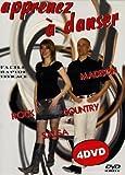 echange, troc Coffret Apprenez à danser: madison, rock, country, salsa - 4 DVD
