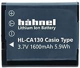 Hähnel HL-CA130 3,7V 1600mAh Ersatzakku (Typ Casio NP-130) passend für Exilim EX-H30, EX-ZR100