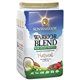 SUNWARRIOR Warrior Blend (Vegan Protein) natural, 1er Pack (1 x 1000 g)