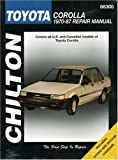 Toyota Corolla, 1970-87 (Chilton's Total Car Care Repair Manuals)