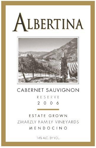 Albertina 2006 Cabernet Sauvignon Reserve
