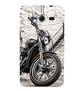 Luxurious Bike 3D Hard Polycarbonate Designer Back Case Cover for Samsung Galaxy Core 2 G355H