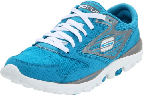Skechers Women's Go Run Sports Shoes - Fitness 13500 Turq Turquoise 5 UK