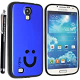 SAMSUNG GALAXY S4 I9500 I9503 I9505 I9506 SILICONE GEL PROTECTION CASE SKIN COVER + SCREEN PROTECTOR + STYLUS