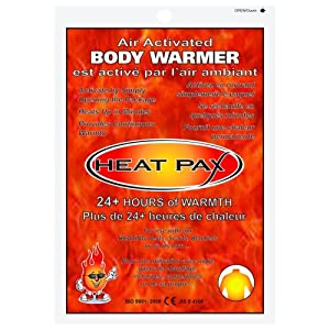 HEAT PAX 20+ HOUR BODY WARMERS - 10 PIECE PACK