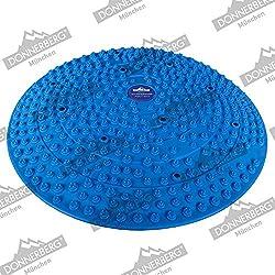 Donnerberg Mini Berg massaggiatore piedi tappetino agopressione riflessologia plantare allevia dolore e gonfiore dei piedi (blu)