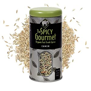 The Spicy Gourmet Organic Cumin Seed 20 Oz by The Spicy Gourmet