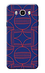 Samsung On8 Back Case KanvasCases Premium Quality Designer Printed 3D Lightweight Slim Matte Finish Hard Case Back Cover for Samsung Galaxy On8 + Free Mobile Viewing Stand