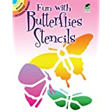 Fun with Butterflies Stencils (Dover Little Activity Books)by Sue Brooks
