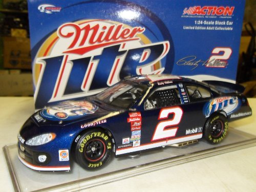 rusty-wallace-miller-lite-2003-intrepid-w-stand-action-racing-124-die-cast-stock-car-limited-run-by-