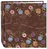 Pioneer Photo Albums 200 Pocket Printed Aged Floral Design Photo Album for 4 by 6-Inch Prints