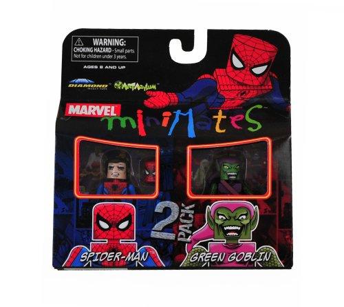 Marvel Minimates Exclusive Spider-Man & Green Goblin Figure 2-Pack (Marvel Minimates Green Goblin compare prices)