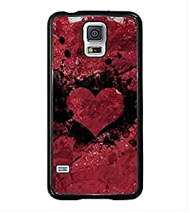 Printvisa Ultra Heart 2D Hard Polycarbonate Designer Back Case Cover for Samsung Galaxy S5 ::...