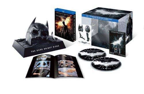 ダークナイト ライジング BATMAN COWL ブルーレイ プレミアムBOX(初回数量限定生産) [Blu-ray]