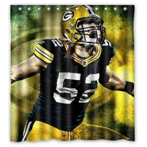 Green Bay Packers Shower Curtain Packers Shower Curtain Packers Shower Curtains
