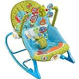 AKTIONSPREIS! Fisher Price Y5706 Wunderwelt 3in1 Schaukelsitz Babyschaukelsitz Füttersitz mit
