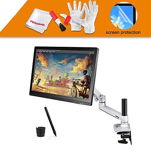 """Ugee UG-2150 21.5""""  ペン タブレットモニター ペンディスプレイ Pergearクリーンキット付属 IPSパネル HD解像度 (21.5"""" IPS Monitor+ Arm)"""
