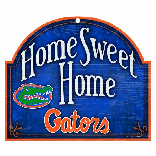 NCAA Florida Gators 10-by-11 Arch Wood Sign
