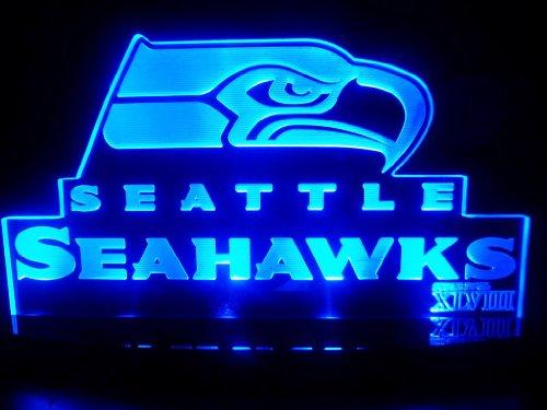 Nfl Seattle Seahawks Super Bowl 48 Led Desk Lamp Night Light Beer Bar Bedroom Gameroom Signs front-76699