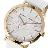 クリスチャンポール CHRISTIAN PAUL マーブル Marble WHITEHAVEN ユニセックス 腕時計 MR-03 ホワイト[並行輸入品]