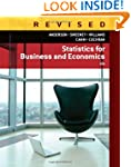 Statistics for Business & Economics,...