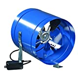 Specially designed for mounting inside ventilation shaft, VKOM fans are the perfect air mover inside the ventilation systems. Steel body with polymeric coating and features aluminum impeller. External rotor motor on ball bearing with thermal protecti...