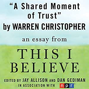 this i believe essays book Essays on this i believe we have found 500 essays on this i this recommendation book on the curriculum was only contained in an eighty-three pages book.