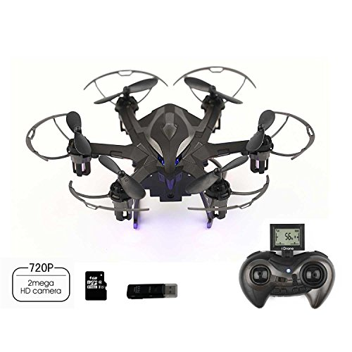DoToy-I6s-24GHz-6Axis-Gyro-mini-Drone-nano-Rc-Hexacopter-with-2MP-HD-camera-Auto-Orientationone-button-homeward-voyage-mode