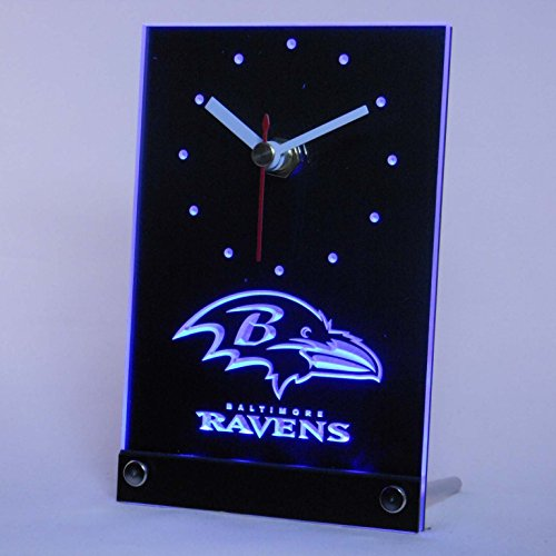 Football Stadium Lights End Table: Baltimore Ravens Neon Light, Ravens Neon Sign, Neon Ravens
