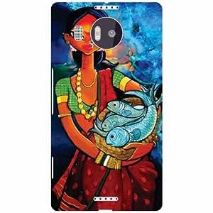 Microsoft Lumia 950 XL Back cover (Printland)