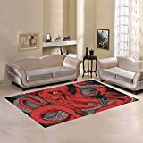 Love-Nature-Sweet-Home-Modern-Collection-Custom-Octopus-Area-Rug-Cover-7×5-Indoor-Soft-Carpet