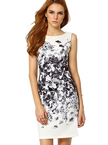 ROMWE-Womens-Sleeveless-Floral-Print-Bodycon-Cocktail-Party-Dress