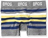 (ブロス)BROS フィットパンツ (前開き無) ブロス GT3137  YE L