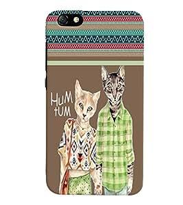 Fuson 3D Printed Hum Tum Designer back case cover for Huawei Honor 4X - D4417