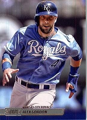 2014 Topps Stadium Club Baseball Card # 118 Alex Gordon Kansas City Royals