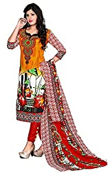 casual wear unstitched dress material