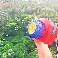 Bubble Camera - iPlay, iLearn Music Bubble Toy Bubble Machine With Bubble Solution for Kids Outdoor and Indoor...
