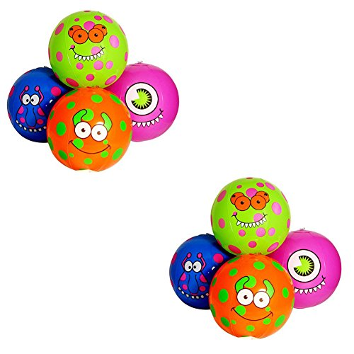Fun Express Monster Beach Balls (2 Dozen)