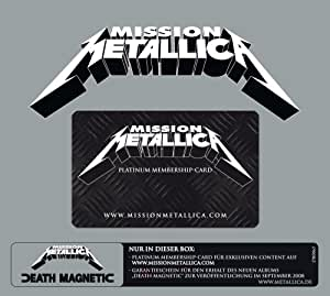 Death Magnetic Vorbestellbox mit Mission Metallica Zugangscode (Standard-Version)