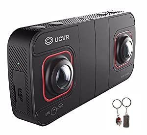 Seesii Professional Digital VR Camera 360 Dual-lens Larger Angle 360 panoramic UCVR EYE WIFI Full HD 1080P 4K Panoramic 3D VR Camera by Seesii