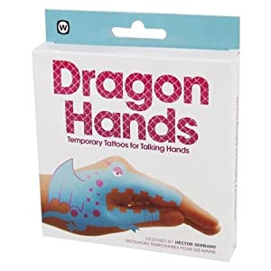 Dragon Hands! Temporary Tattoos for Talking Hands by NPW