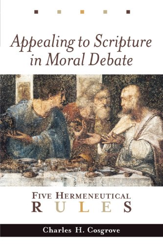 ... Study Documents for Appealing to Scripture in Moral Debate: Five