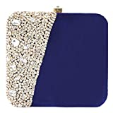 #7: Handicraft Party Wear Hand Embroidered Potli Box Clutch Bag Purse For Bridal, Casual, Party , Wedding