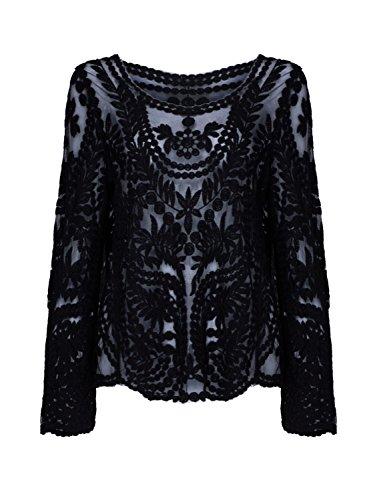 choies-women-cotton-blend-crochet-lace-plain-long-sleeve-round-neck-loose-bla