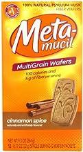 Special Pack of 5 METAMUCIL WAFERS CINNAMON 12 per pack
